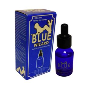 Perangsang Wanita Blue Wizard Cair